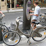 Parisian-style hire bicycles about to conquer London