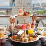 Tea for two… on the BB boat on the Thames?