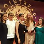 Laetitia Casta in London to crown the winners of the Cointreau Creative Crew UK