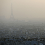 Paris, quand la pollution tombe à pic