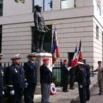 London commemorated Charles de Gaulle's 18 June 1940 speech