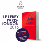 Le guide Lebey Paris-London : les meilleurs bistrots