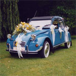 French wedding car