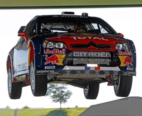 Loeb a survolé le Rallye de France couru chez lui en Alsace
