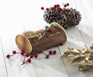 Traditional Christmas Log
