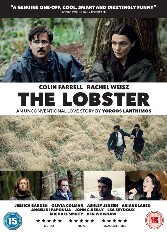 The Lobster DVD cover