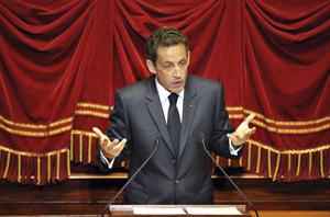 Nicolas Sarkozy à Versailles