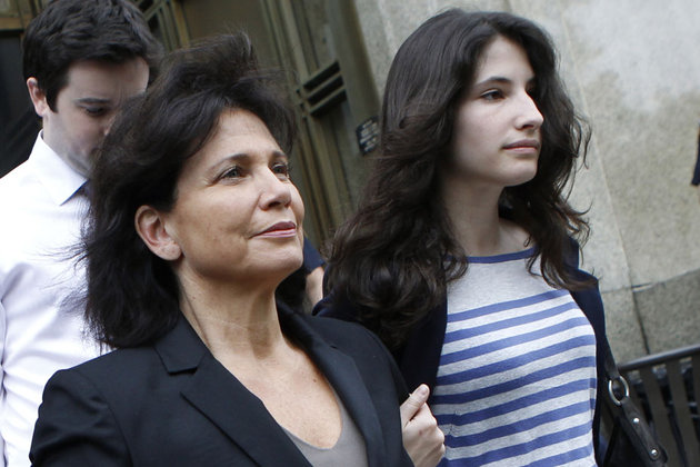 Anne Sinclair and DSK's daughter Camille Strauss-Kahn