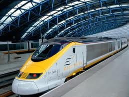 Speed and comfort on the Eurostar