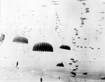Air drop, WW II
