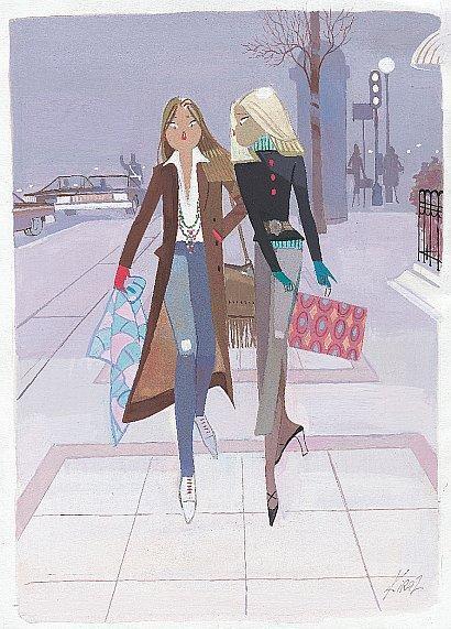 France in london comment s habiller comme une parisienne - Dessin parisienne ...
