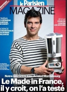 Montebourg - Industry Minister - Posing in the name of