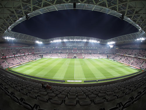 Allianz Riviera stadium in Nice