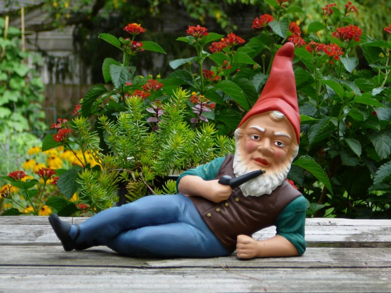 This garden gnome could cultivate your garden
