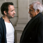 Jean Dujardin and Jean-Paul Belmondo
