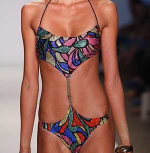 """Bling Kini"" , Pistol Panties"