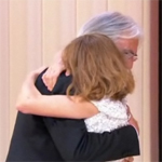 Michael Haneke and Isabelle Huppert