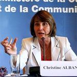 Christine Albanel, Minister of Culture and Communication