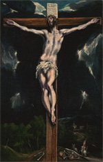 Christ on the Cross - El Greco