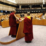 Dalai Lama at the EU Parliament
