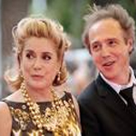 Arnaud Desplechin and Catherine Deneuve