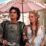 Diane Kruger and Orlando Blum in Troy