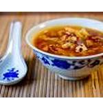 Wild Mushroom & Black Cabbage Soup