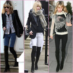 Kate Moss - above the knee boots