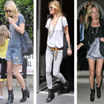 Kate Moss' ankle boots