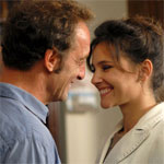 "Vincent Lindon and Virginie Ledoyen in ""London mon amour"""