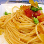 Spaghetti With Bottarga & Tomatoes