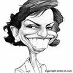 Rachida Dati's caricature
