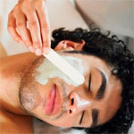 Men take care of their skin