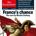 The Economist caricature Nicolas Sarkozy sous les trait de Bonaparte.
