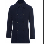 Wool sailor's jacket Topman