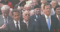 Veterans, Cameron and Sarkozy