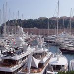 Yatchs dans le port de Monaco.
