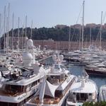Yatchs dans le port de Monaco.