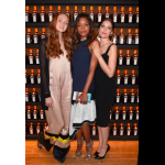 The three actress Lily Cole, Naomie Harris and Laetitia Casta
