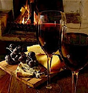 Red wine and open fires start to call