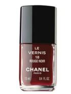 Vernis à ongle Rouge Noir de Chanel