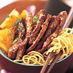 SAUTEED PORK WITH PINEAPPLE