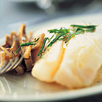 HALIBUT WITH ARTICHOKE CREAM by Picard