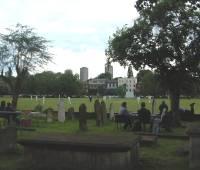 cricket match et thé dans l'église Saint-Anne